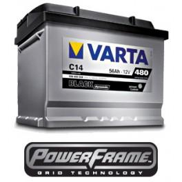 Аккумуляторы Varta BLACK Dynamic 70 Ah 640A