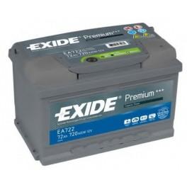 Аккумулятор Exide Premium EA722 R+ (72 Ah) 720A