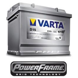 Аккумуляторы Varta SILVER Dynamic 63 Ah 610A