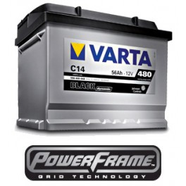 Аккумуляторы Varta BLACK Dynamic 56Ah 480A