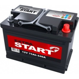 Аккумулятор Extra Start 55 Ah 420A-450A